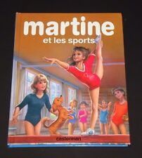 Martine et les sports 8 French Books in 1 - Marcel Marlier HC Casterman - 1996