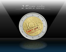 "LITHUANIA 2 EURO 2015 "" ACIU - Lithuanian language "" Commemorative Coin * UNC"