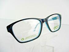 Earth Conscious Optics (ECO) Mod 1107 Black / Blue 52  X 15 Eyeglass Frame