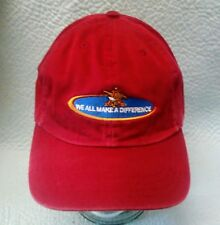 Anheuser Busch We All Make A Difference Red Slidefit Hat Cap *