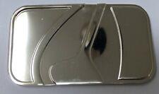 """Métal Boucle de ceinture pour s/'adapter 35 mm 1 3//8/"""" ceinture argent//Pistolet métal couleur nickel U"""