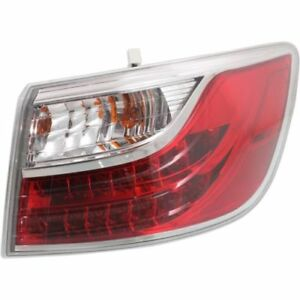 FITS FOR MAZDA CX-9 2010 2011 2012 REAR TAIL LAMP INNER ON TRUNK LID RIGHT