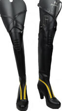 Cosplay Boots Shoes for Sword Art Online 2 OSS Original Sword Skill Konno Yuuki