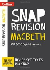 Macbeth: AQA GCSE 9-1 English Literature Text by Collins GCSE New Paperback Book