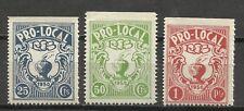 2476-SELLOS FISCALES SERIE COMPLETA 1950 PRO LOCAL,LOCALES ESPAÑA SPAIN REVENUE