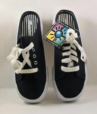 No Boundaries Ladies Canvas Low Back Black Casual Sneakers Size 7.5