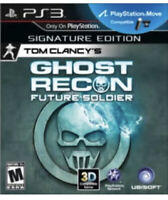 Very Good: TOM CLANCY'S GHOST RECON: FUTURE SOLDIER PS3 Playstation 3