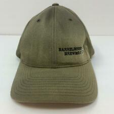 Barrelhouse Brewing Co. FlexFit Hat Khaki Green Cap Logo Size L-XL