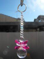 1 x suncatcher guardian angel mobile crystal fairy garden mothers day keyring