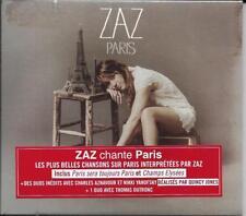 CD DIGIPACK TRIPLE VOLETS 13T ZAZ PARIS FRENCH STICKER 2014 NEUF SCELLE