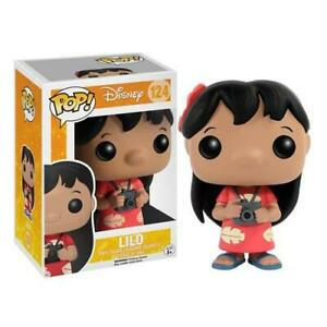 Funko Pop! Disney Lilo & Stitch LILO #124 Vinyl Figure NEW & IN STOCK NOW - UK