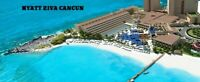 VACATION PACKAGE HYATT ZIVA CANCUN MEXICO, ALL INCLUSIVE RESORT MEMBER SAVINGS!!
