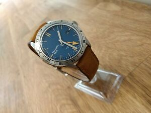 Christopher Ward C65 Trident GMT Blue Dial Dive Watch 41mm Full Set