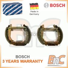 BOSCH REAR BRAKE SHOE SET AUDI VW SEAT OEM 0204114053