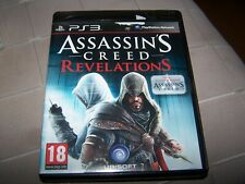 ASSASSIN S CREED REVELATIONS  - VF - PS3 boite CD