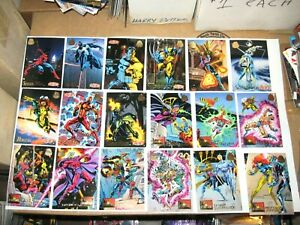 1994 MARVEL UNIVERSE SERIES 5 V COMPLETE 200 BASE CARD SET! COMICS! AVENGERS!
