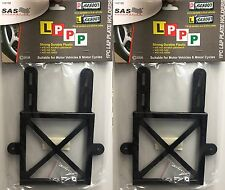 2 x Red Green P and L Plate Holder with Screws 100% Brand New