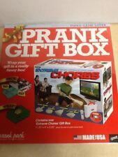 Extreme Chores Prank Gag Joke Large Gift Box for The Video Game Lover Christmas