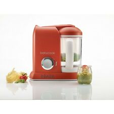 Beaba Babycook mixeur Food Processor - 1100 ml-Paprika Rouge-UK Plug-NEUF