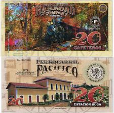 EL CLUB DE LA MONEDA COFFEE RAILROAD 20 GAF 2017 PACIFICO 1872 UNC
