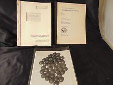 Report Acid Mine Drainage & Conversion Anthracite Coal Acetylene 1965 gov't. vtg
