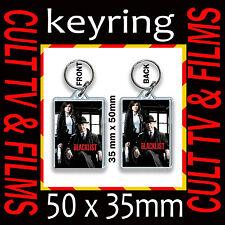 THE BLACKLIST  CULT TV AND FILM  KEYRING- KEY CHAIN- KEY RING 35X50MM #1
