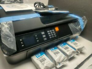 NEW HP Officejet 4630 Wireless Color e-All-in-One Inkjet Printer  NEW