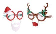 Occhiali multicolore in plastica per carnevale e teatro
