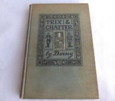 Antique Magic Book Trix & Chatter by Dorny Signed