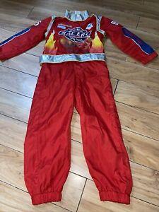 disney lightning mcqueen cars pit crew driver halloween costume 5/6