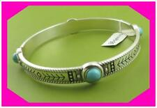 Brighton Southwest Dreams Turquoise Silver Bangle Bracelet Ne