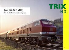 TRIX 2019 Katalog H0 Neuheiten