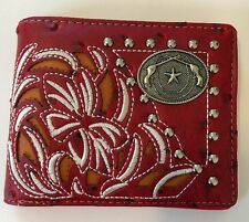 New Men's Embriodery Wallet