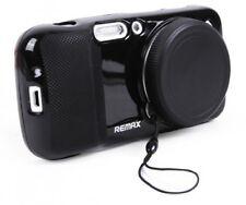 REMAX protettiva morbida nero case W lente della fotocamera copertura per Samsung Galaxy S4 Zoom