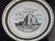 1995 Decor Art Knaresborough UK  THE CASTLE   Ltd Ed Plate