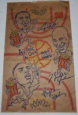 Vintage 1996 McDonald's NBA All Star Bag Michael Jordan The Last Dance Rare!