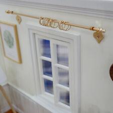 1:12 Dollhouse Diy miniature curtain rod mini exquisite dollshouse accessoriesWl