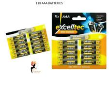 AAA BATTERIES 11PK 1.5V ZINC CARBON Camera High Powered Battery Camera Remote UK