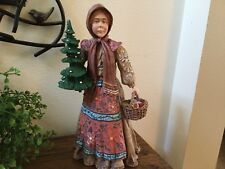 Duncan Royale History of Santa Ii - Babouska of Russia Figurine 1985 Le