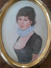 Hand Painted Portrait Victorian Woman Lid Limoges ? Dresser Box Rosemary Arnold