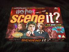 HARRY POTTER SCENE IT  THE DVD GAME FAMILY BOARD GAME 2005