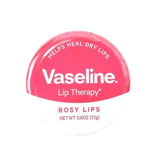 Vaseline Lip Therapy Rosy Lips Lip Balm Tin Original 0.6 fl oz