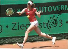 Mona Barthel Germany Tennis 5x7 PHOTO1 Signed Auto