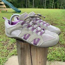 Merrell Purple Pink Gray Water Hiking Shoes Women's Size 9.5