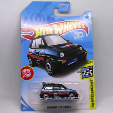 85 Honda City Turbo II Hot Wheels Speed Graphics 1:64 Scale Metal Model Car 2H