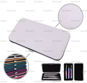Magnetic Case for 3 Eyelash Tweezers Light Weight Hidden magnetic in 12 Colours
