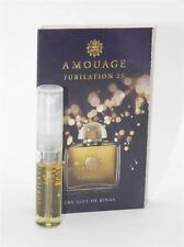 Amouage Jubilation 25 Woman EDP 2ml Vial Sample New With Card