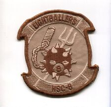 HSC-8 EIGHTBALLERS US Navy Sikorsky Helicopter Squadron Jacket Desert  Patch