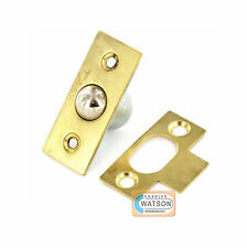 16mm BRASS BALES CATCH Ball Catch Mortice Door Cupboard Spring Roller Latch