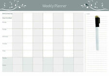 Magnetic Weekly  planner + Free Whiteboard Marker (Australian Made)